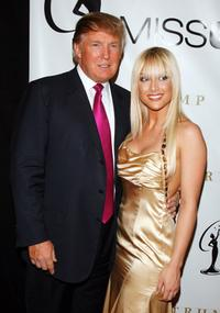 Donald Trump and Tara Conner at the 56th Annual Miss USA Pageant.