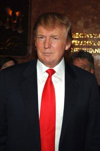 Donald Trump at the interview event of the next