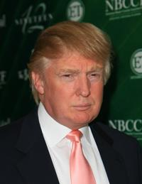 Donald Trump at the opening of