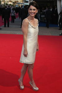 Robin Tunney at the French premiere of