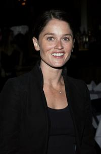 Robin Tunney at the opening night of Leslie Zemeckis's burlesque revue act