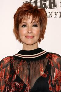 Janine Turner at the panel discussion and screening of