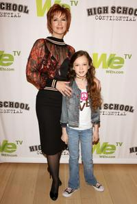 Janine Turner and Juliette at the panel discussion and screening of
