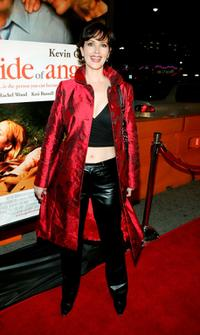 Janine Turner at the premiere of the