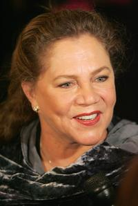 Kathleen Turner at the New York opening night of