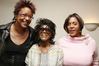 Cicely Tyson, Linda Johnson Rice and Harriette Cole at the breakfast hosted by the Metropolitan Museum of Art.