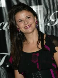 Tracey Ullman at the 2004 American Women in Radio and Television Gracie Allen Awards gala.