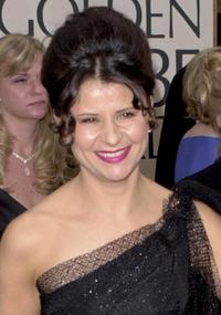 Tracey Ullman at the 58th Annual Golden Globe Awards.