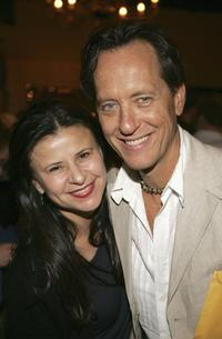 Tracey Ullman and Richard E. Grant at the AFI special Directors screening of his semi-autobiographical movie