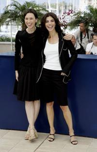 Maribel Verdu and Ariadna Gil at the photocall promoting the film