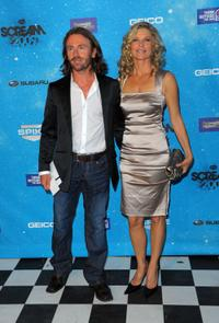 Kate Vernon and Guest at the Spike TV's Scream 2009.