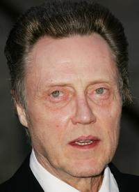 Christopher Walken at the Vanity Fair 2007 Tribeca Film Festival party.