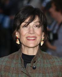 Harriet Walter at the premiere of