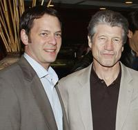 Jeff Gaspin and Fred Ward at the after party of the premiere of