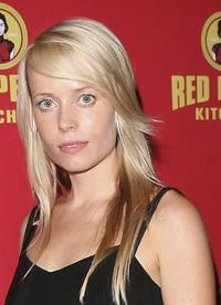 Sophie Ward at the grand opening of the Red Pearl Kitchen Hollywood.