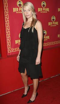 Sophie Ward at the grand opening of Red Pearl Kitchen Hollywood.