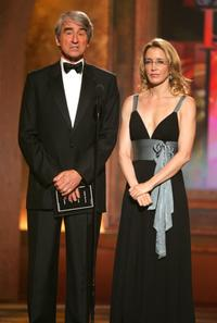 Sam Waterston and Felicity Huffman at the 61st Annual Tony Awards.