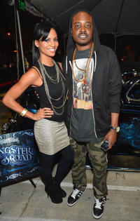Candace Smith and Jason Weaver at the VIP screening and after party of