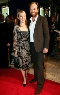 Hugo Weaving and Lisa McCune at the world premiere of