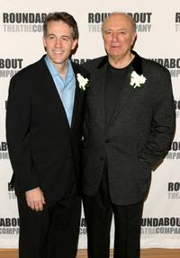 Boyd Gaines and Philip Bosco at the premiere of
