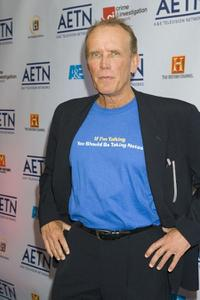Peter Weller at the A&E Network's