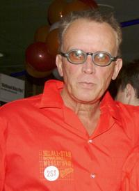 Peter Weller at the 18th Annual Second Stage All-Star Bowling Classic.