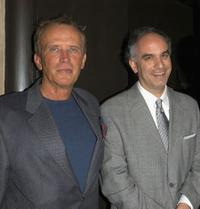 Peter Weller and Tom Russo at the