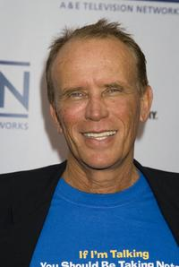 Peter Weller at the A&E Network Up-Fronts.