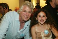 Barry Bostwick and Hallie Eisenberg at the book party of