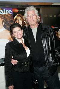 Barry Bostwick and Guest at the premiere of