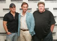 Director Scott Ellis, Richard Thomas and George Wendt at the rehearsal of Broadway play