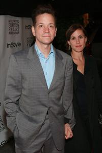 Frank Whaley and Heather Bucha at the InStyle & HFPA's Toronto Film Festival Party.