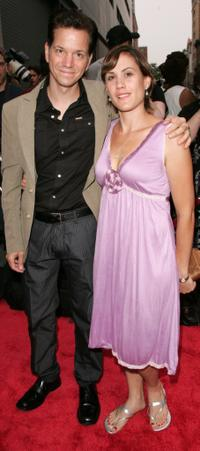 Frank Whaley and Heather Bucha at the New York premiere of