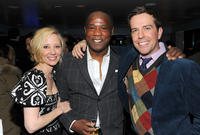 Anne Heche, Isiah Whitlock, Jr. and Ed Helms at the Cedar Rapids party in Utah.