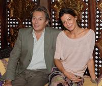 Patrick Bouchitey and Laetitia Chardonnet at the Marrakesh International Film Festival for the photocall of