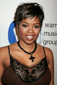 Malinda Williams at the Warner Music Group 2008 GRAMMY Awards after party.