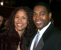 Mykelti Williamson and Sondra Spriggs at the Grand opening Gala of The Muhammad Ali Center.