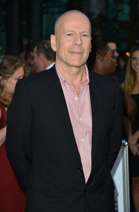 Bruce Willis at the opening night gala premiere of