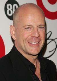 Bruce Willis at Tony Bennett's 80th Birthday Celebration.