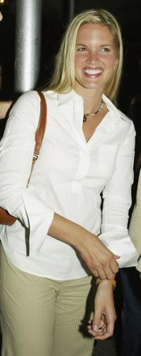 Bridgette Wilson at the after-party of