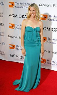 Bridgette Wilson at the 11th annual Andre Agassi Charitable Foundation's Grand Slam benefit concert.