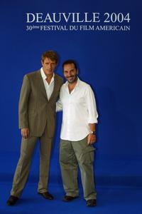 Lambert Wilson and director Pitof at the
