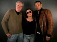 Scott Wilson, Director Mia Goldman and Joel Edgerton at the 2006 Sundance Film Festival.