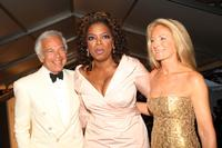 Oprah Winfrey, Ralph Lauren and Ricky Lauren at the CFDA Fashion Awards.