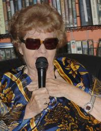 Shelley Winters speaks at Rocket Video for Curtis Harrington Surprise Party.