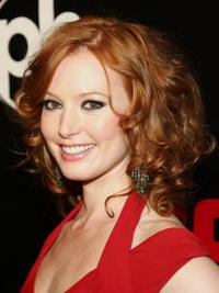Actress Alicia Witt at the Las Vegas premiere of