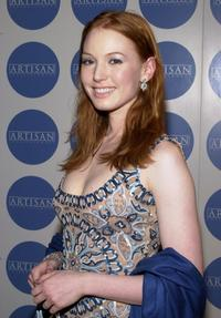Alicia Witt at the Details-Artisan Entertainment party.