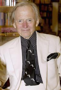 Tom Wolfe at the booksinging of