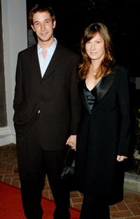 Noah Wyle and his wife at the