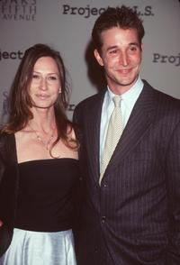 Noah Wyle and girlfriend at the First Annual Project A.L.S Event.
